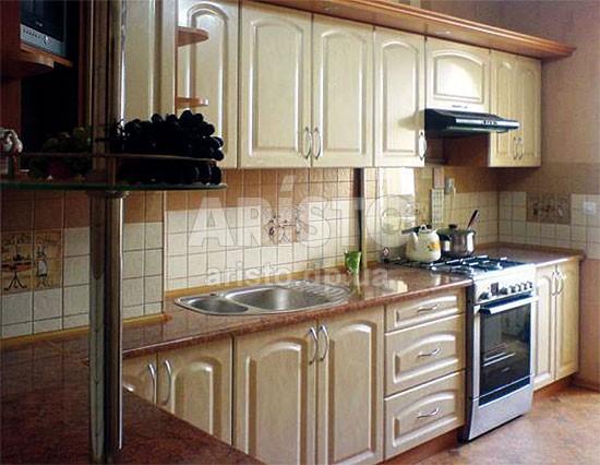 Кухня МДФ Париж-3. Классическая кухня Париж 3 - крашенный МДФ в ... | 426x550